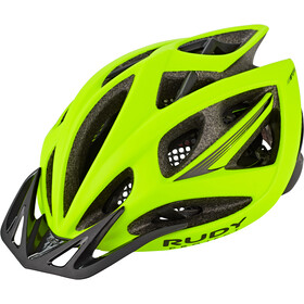 Rudy Project Airstorm Road Casque, yellow fluo matte
